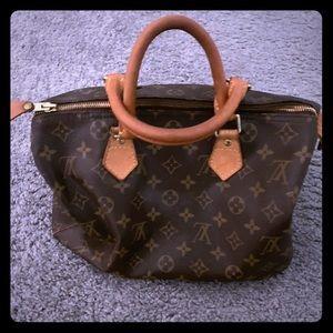 AUTHENTIC Louis Vuitton Speedy 30 Satchel Bag